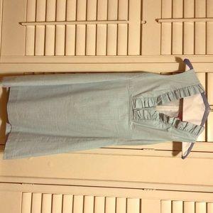 Lilly Pulitzer seersucker dress, size 4.